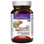 New Chapter 40+ Every Man II Multi Vitamin, Tablets- 96 ea