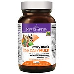 New Chapter Every Man's One Daily Multi Vitamin, Tablets- 72 ea
