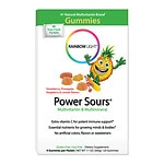 Rainbow Light Gummy Power Sours Multivitamin with Extra Vitamin C for Active Kids, Sour Fruit