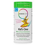 Rainbow Light Kids One MultiStars Food-Based Multivitamin, Tablets, Fruit Punch- 30 ea
