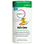 Rainbow Light Kids One MultiStars Food-Based Multivitamin, Tablets, Fruit Punch- 90 ea