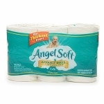 Angel Soft Bath Tissue, Double Roll, Unscented