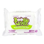 Boogie Wipes Gentle Saline Wipes for Stuffy Noses, Simply Unscented