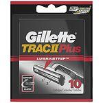 Gillette Trac II Plus, Refill Cartridges- 10 ea