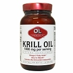 Olympian Labs Krill Oil 1000mg- 60 softgels