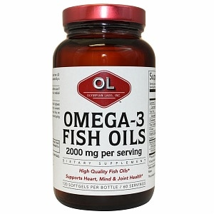 Olympian Labs Omega-3 Fish Oils 2000mg&nbsp;