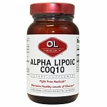 Olympian Labs Alpha Lipoic Coenzyme Q10 200mg- 60 vegetarian capsules