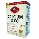 Olympian Labs Calcium 2 Go- 30 packets