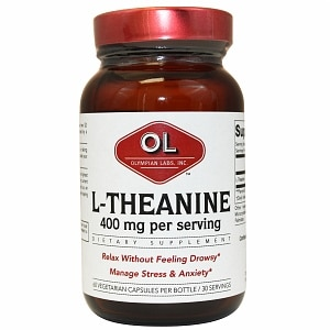 Olympian Labs L-Theanine- 60 capsules