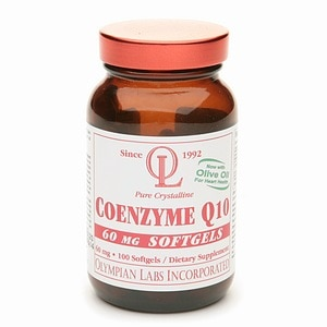 Olympian Labs Coenzyme Q10 60mg- 100 softgels
