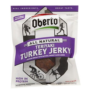 Oberto All Natural Turkey Jerky, Teriyaki- 3.25 oz