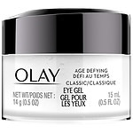 Olay Age Defying Classic Eye Gel, Fragrance-Free, Color-Free- .5 oz