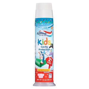 Aquafresh Kids Cavity Protection Toothpaste, Bubblemint
