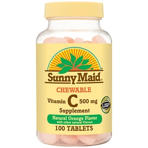 Sunny Maid Chewable Vitamin C, 500 mg Tablets
