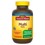 Nature Made Multi Daily with Iron, Dietary Supplement Tablets- 300 ea