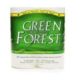 Green Forest Double Roll Premium Bathroom Tissue, Unscented