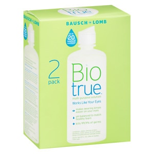 Bausch + Lomb Biotrue Multipurpose Solution for Soft Contact Lenses- 10 oz