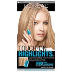 L'Oreal Paris Touch-On Highlights Complete Highlighting Kit, Iced Champagne H90- 1 kit