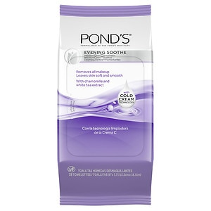 POND'S Wet Cleansing Towelettes, Evening Soothe- 30 ct
