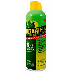 Ultrathon Insect Repellent 8  Aerosol, Fresh Outdoor Scent- 6 fl oz