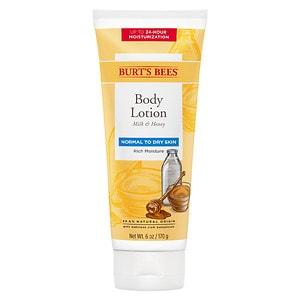 Burt's Bees Body Lotion, Milk & Honey- 6 oz