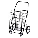 Narita Trading Company Jumbo Shopping Cart, Black