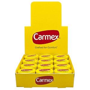 Carmex Regular Jars, Case, Original