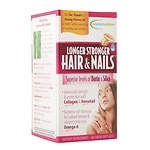 Applied Nutrition Longer Stronger Hair & Nails, Liquid Soft-Gels- 60 ea