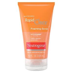 Neutrogena Rapid Clear Foaming Scrub- 4.2 fl oz