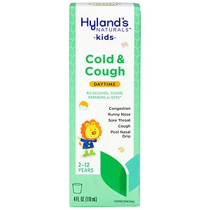 Hyland's 4Kids Cold 'n Cough Liquid- 4 fl oz