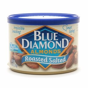 Blue Diamond Almonds, Can, Roasted Salted- 6 oz
