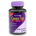 Natrol Green Tea, 500mg, Capsules