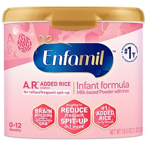Enfamil A.R. Infant Formula for Spit-Up, Powder, 0-12 months- 21.5 oz