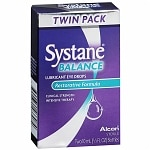 Systane Balance Lubricant Eye Drops, Restorative Formula, Twin Pack