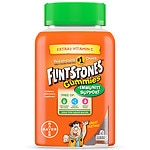 Flintstones Gummies with Extra C Plus Immunity Support Children's Multivitamin