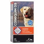 Cosequin DS Plus MSM, Joint Health Supplement for Dogs- 60 ea