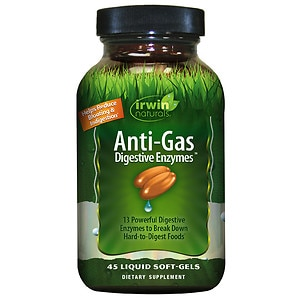 Irwin Naturals Daily Digestive Enzymes- 45 liquid softgel