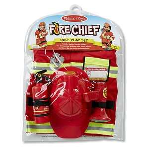 Melissa and Doug Fire Chief Deluxe Role Play Set Ages 3 and up, 1 ea