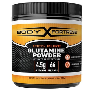 Body Fortress 100% Pure Glutamine Powder- 10.6 oz