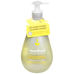 method Kitchen Odor-Eliminating Hand Wash, Lemongrass- 18 fl oz