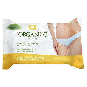 ORGANYC Organic Intimate Hygiene Wet Wipes- 20 ea