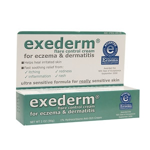 Exederm Flare Control Cream for Eczema & Dermatitis