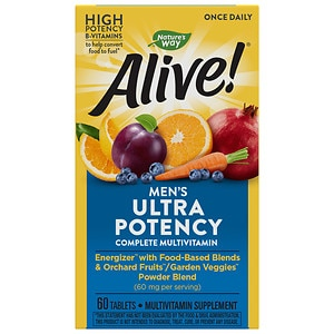 Nature's Way Alive! Once Daily Men's Ultra Potency Multivitamin