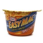 Kraft Easy Mac (10 Single Serve Cups), Triple Cheese