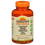 Sundown Naturals Milk Thistle Xtra, 240mg, Capsules