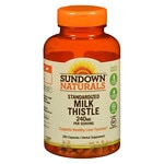 Sundown Naturals Milk Thistle Xtra, 240mg, Capsules- 250 ea