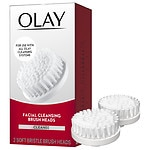 Olay Professional ProX Advanced Facial Cleansing System Replacement Brush Heads, 2pk- 1 ea