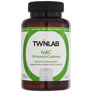 Twinlab NAC (N-Acetyl-Cysteine), 600mg, 60 capsules