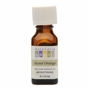 Aura Cacia Pure Essential Oil, Brightening Orange- .5 fl oz