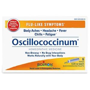 Boiron Oscillococcinum Natural Flu Relief- 6 ea